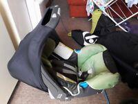 Britax baby safe plus baby car seat