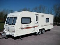 2012 BAILEY UNICORN BARCELONA TWIN AXLE FOR SALE
