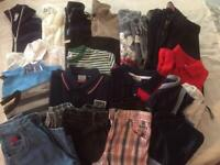 Large Bundle of Boys clothes age 7-8