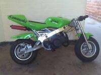 Kawasaki mini moto as spare