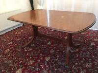 Burr Ash Dining Table