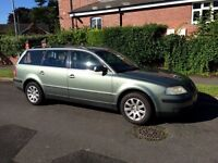 2002 (51) Volkswagen Passat 1.9 TDI SE ESTATE (100 BHP) Timing Belt Kit Changed