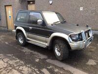 **** Mitsubishi Pajero diesel 1 years mot swap px car van ****