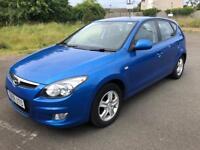 Hyundai I30 comfort 1.4 petrol 59reg 79k FSH 1 year mot