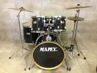 Mapex V series drum kit Sabian Cymbals Stands pedal drums