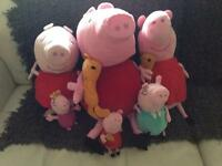 Pappa pig bundle of toyys