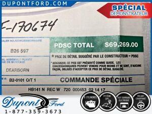 2017 Ford F-150 4WD SUPER CAB 145'' WB 131 KM. RABAIS INCROYABLE