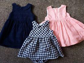 Next baby newborn dresses