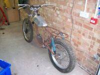 Montesa Cota 247 Trials Bike. A complete rebuild and restoration project
