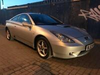 2002 Toyota Celica 1.8 Vvti Petrol Manual Silver Bargain Quick Sale Drives well Mot Service History