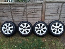 mini cooper wheels