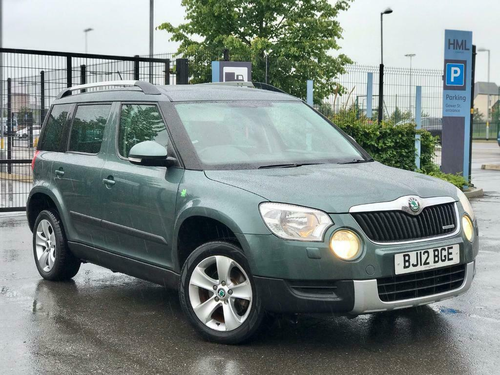 Skoda Yeti 2012 12 1 6 Tdi Greenline Suv 4x4 Diesel Manual In