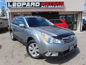 2011 Subaru Outback 3.6R,Limited,Leather,Sunroof,Awd,Paddles.