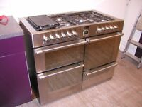 Stoves dual fuel range cooker with 7 burners and 4 ovens