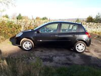 Renault Clio 1.5 DCI, Low miles 63k, Motd, 6 service stamps, £30 road tax, excellent condition