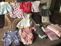 Assorted Girls Baby Clothes