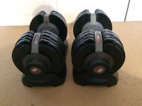 Bodymax Selectabell Dumbbells 5kg - 32.5kg (11lb-71lb) + Bodymax Incline Bench