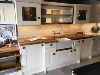 Cream Kitchen Units - SOLD AS SEEN