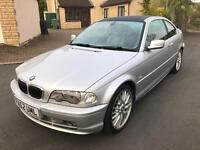 2002(52) BMW E46 330Ci Sport, 12 Month MOT, Low Miles, Manual,