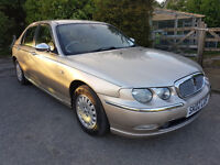 ROVER 75 2002 02 PLATE **AUTOMATIC**MOT AUGUST 2017**