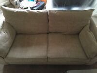 Free 3 seater sofa and 2 love chairs