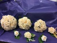 Wedding flowers new unused