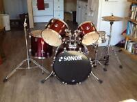 Sonor Force 507 - 5 piece drum kit