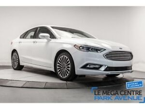 2017 Ford Fusion SE, CUIR, TOIT, NAVIGATION, MAGS