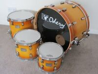 Maple Odery Identity Drum Kit (Shell pack only)