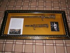 WW1 Imperial German Framed 1898 Bayonets