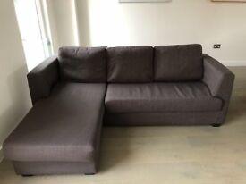 Newark Corner Sofa in warbler grey