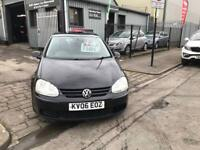 Vw Golf 1.9 TDI,06 Plate,Black,5dr,Hatchback