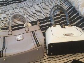 Grey handbag ,labels attached ,never used,river island bag