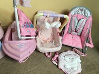 Baby Annabelle & baby born bundle massive some new