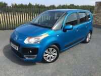 2009 59 CITROEN C3 PICASSO VTR PLUS 1.6 HDI *DIESEL* M.P.V - *LOW MILEAGE* - JUNE 2018 M.O.T!