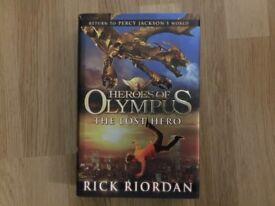 Heroes of Olympus - The Lost Hero by Rick Riordan