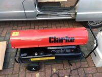 Almost New Clarke XR 160 Diesel Heater