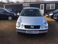VW POLO 1.2 3DR 2005 * IDEAL FIRST CAR * CHEAP INSURANCE * FULL SERVICE HISTORY