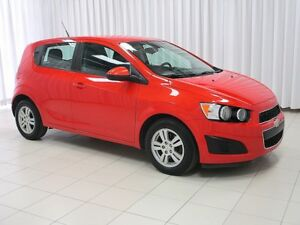 2012 Chevrolet Sonic 5DR HATCH.w/ ALLOY WHEELS, ON-STAR & SIDE A