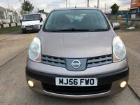2007 NISSAN NOTE AUTO 1.6, LONG MOT 5DOORS SUPERB DRIVE/honda jazz/honda civic/ vw golf/AUTOMATIC