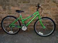 "Raleigh Vixen Cromoloy Girls Mountain Bike - Used Excellent 24"" Wheel's"