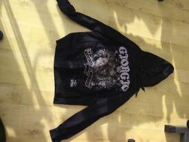 designer hoodie Georgio medium NEW
