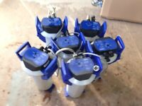 six used Brita purity 600 filter vessels