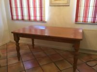 Excellent condition - Solid Pine Dining Table