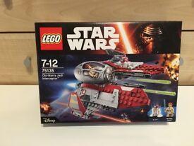 LEGO STAR WARS 75135 OBI WANS JEDI INTERCEPTER