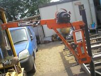 LUCAS SWING LIFT HIAB CRANE FOR TRAILER OR PICK UP TRUCK