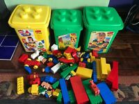 3 sets of vintage duplo plus 1.5 kg