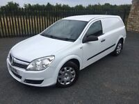 2007 57 VAUXHALL ASTRA 1.3 CDTI *DIESEL*, PANEL VAN *6 SPEED MANUAL*, MAY 2018 M.O.T, ONLY 2 KEEPERS