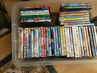 Disney DVDs and various others