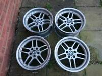 BMW M Parallel 18 inch Staggered Style 37 e39 e38